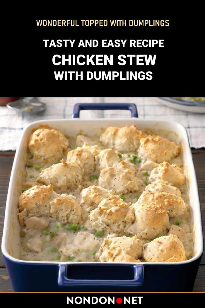 Easy Chicken Stew with Dumplings Recipe #ChickenStew #Chicken #Stew #Dumplings #DumplingsRecipe #ChickenRecipe #StewRecipe #dumplingdish #TurkishChicken #TurkishStew #chickenbroth #buttermilk #butter #SideDish #ChickenDish