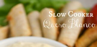 Slow Cooker Queso Blanco