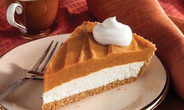 Creamy Two-Layer Pumpkin Pie