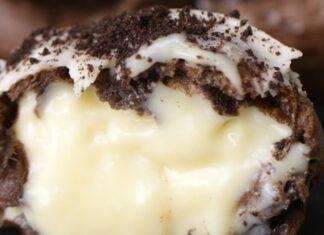 Cookies Cream Puffs