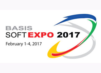BASIS SoftExpo 2017 logo.