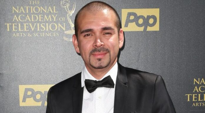 Actor Andre Bauth at the 42nd Annual Daytime Emmy Awards in April 2015.