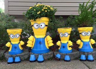 7 Clay Pot Garden DIY Yard Projects
