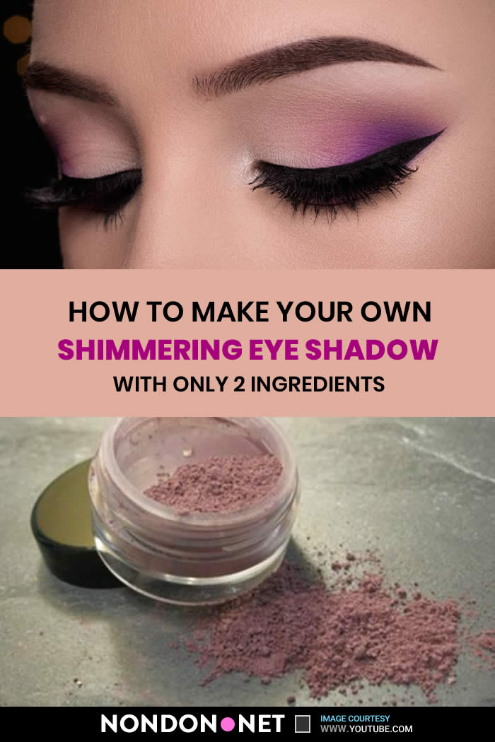 How to make Homemade Shimmering Eye Shadow #HomemadeEyeShadow #ShimmeringEyeShadow #EyeShadow #Shimmering #sheabutter #turmeric #turmericpowder #cacaopowder #arrowrootpowder #arrowroot #powder
