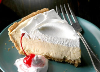 Root Beer Float Pie Dessert Recipe is a fabulous summertime dessert that's always a crowd favorite!