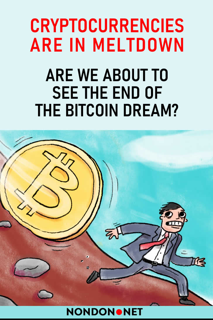 Cryptocurrencies are in meltdown – are we about to see the end of the bitcoin dream? #Cryptocurrencies #Cryptocurrency #Crypto #bitcoin #ethereum #litecoin #XRP #Ripple #BitcoinCash