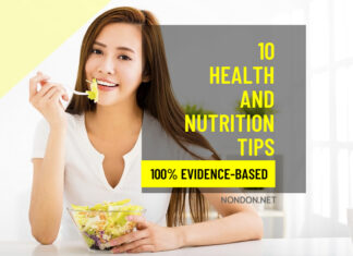 10 Health and Nutrition Tips That Are Actually Evidence-Based