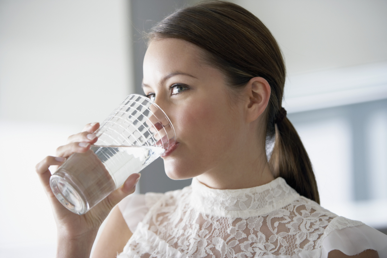 Drinking lots of water is commonly espoused in weight loss regimens and is regarded as healthy.