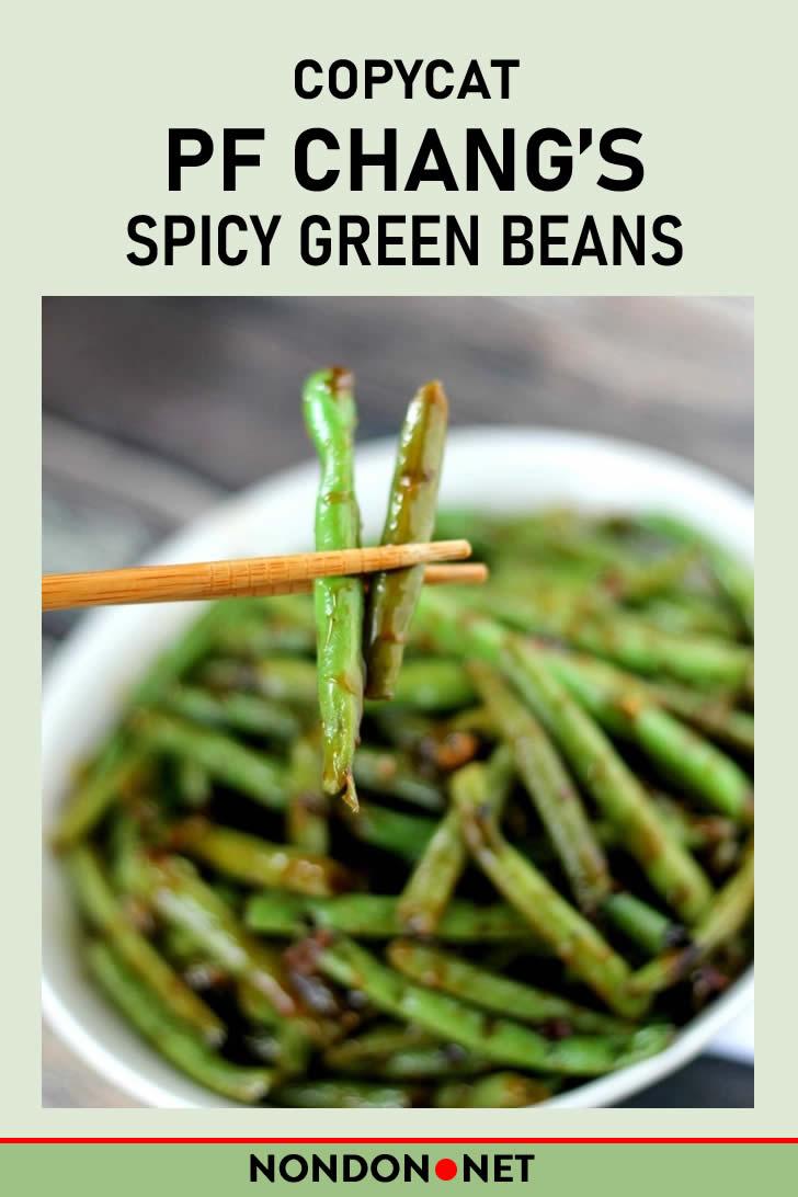 Copycat PF Changs Spicy Green Beans- 6 Thanksgiving Side Dishes #Thanksgiving #SideDishes #ThanksgivingSideDishes #PFChangs #Changs #GreenBeans #GreenBeansRecipe #BeansRecipe #CopycatRecipe #Copycat