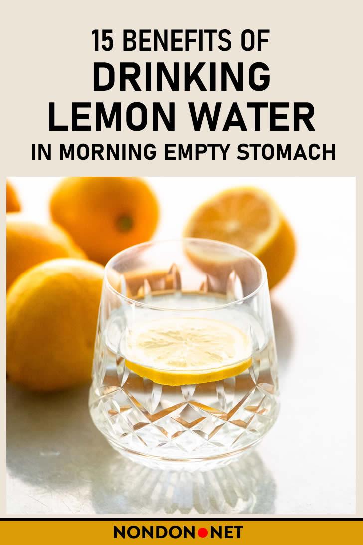 15 Benefits of Drinking Lemon Water in Morning Empty Stomach #LemonWater #Lemon #lemonjuice #vitaminC #lemonliquid #warmwater #BenefitsofDrinking