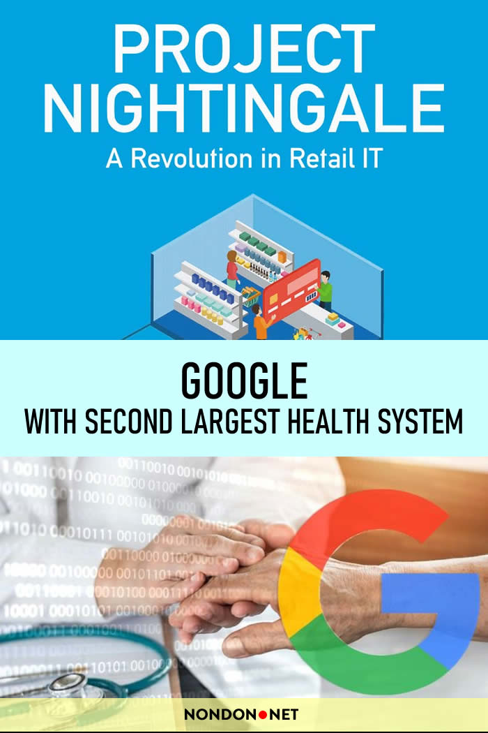 #Google has been quietly working with the Second-Largest #HealthSystem, in the US on a #healthcare data project. #ProjectNightingale #Nightingale #Ascension #WallStreetJournal