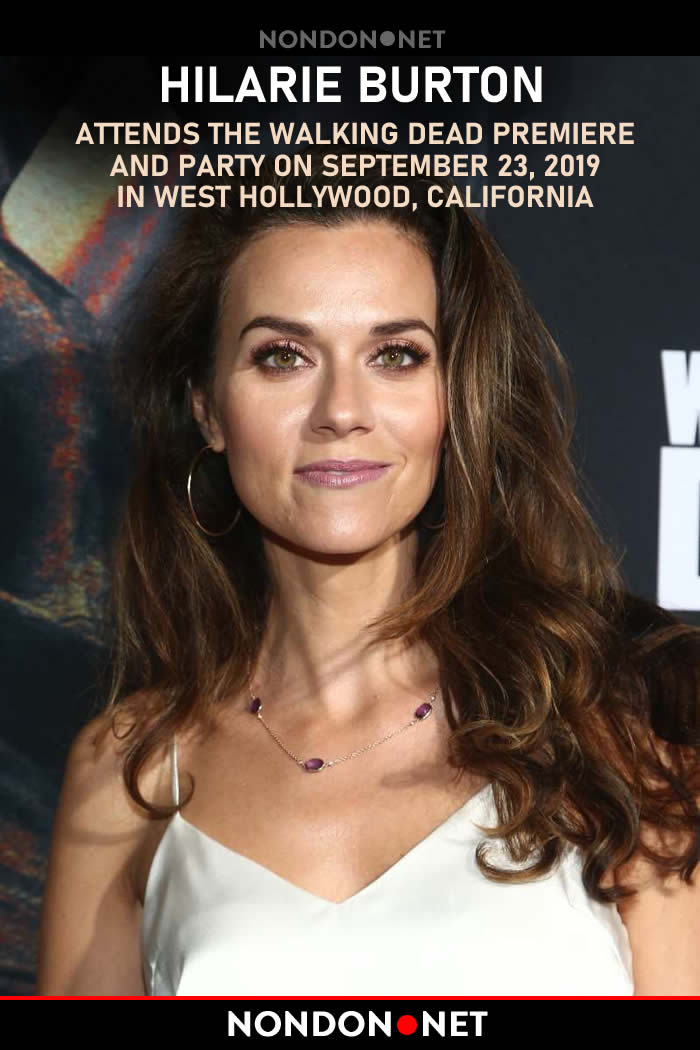 Hilarie Burton Accuses Hallmark of Refusing Her Contract Demands of Inclusivity – nondon.net - Hilarie Burton Attends the Walking Dead Premiere and Party On September 23, 2019 In West Hollywood, California. #HilarieBurton #Hilarie #Burton #Hallmark #WalkingDead #Hollywood #California