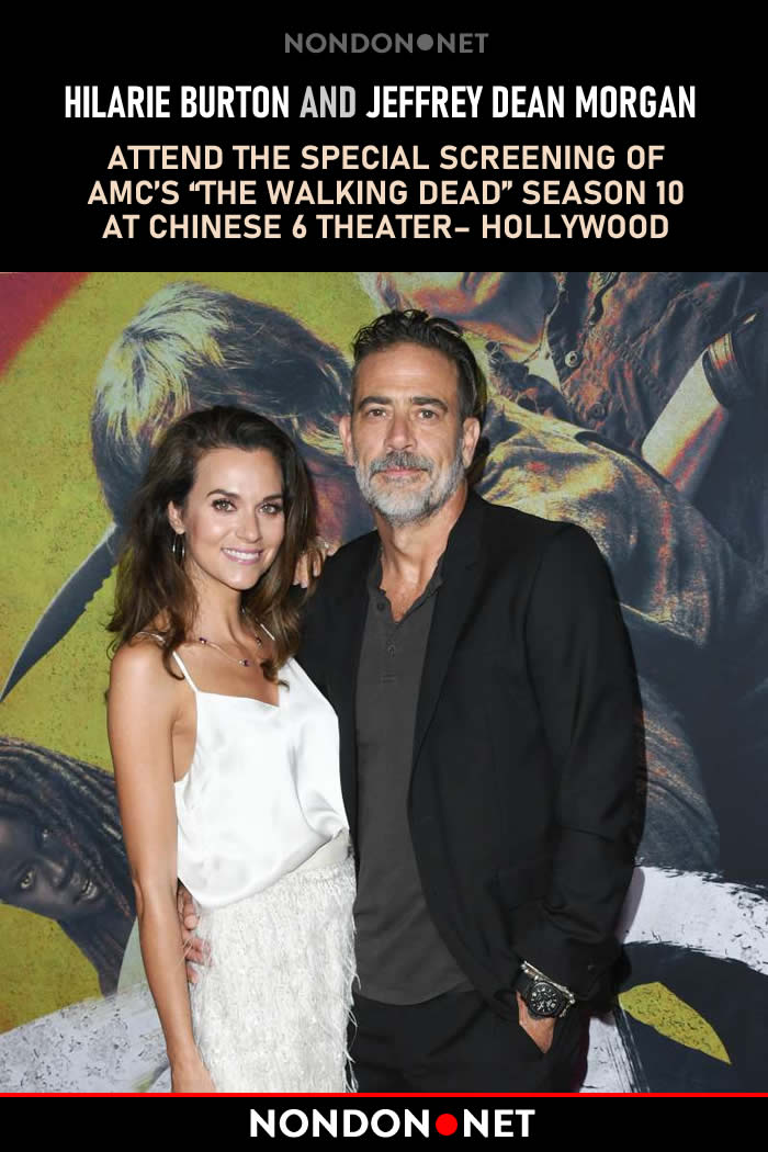 Hilarie Burton Accuses Hallmark of Refusing Her Contract Demands of Inclusivity- nondon.net - #HilarieBurton and #JeffreyDeanMorgan attend the Special Screening Of #AMC's #TheWalkingDead Season 10 at #Chinese6 #Theater– #Hollywood on September 23, 2019 in Hollywood, #California
