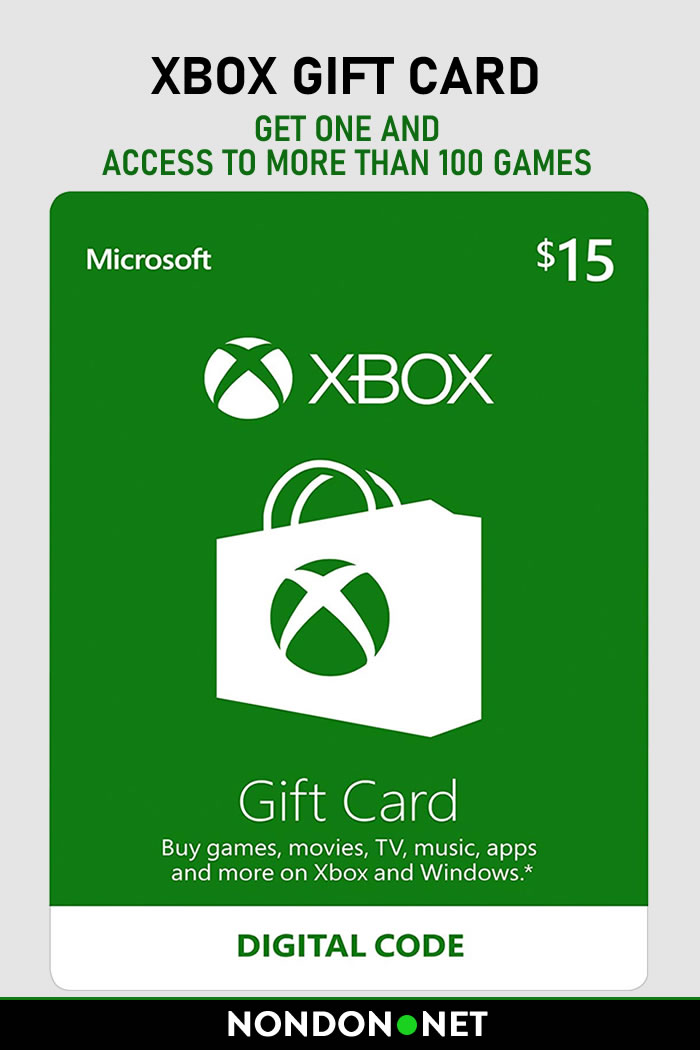 Xbox Gift Card- Get an Xbox Gift Card and Access To More Than 100 Games #Xbox #Game #GamePass #GiftCard #Games #XboxOne #WindowsPC #creditCardAlternative #Xbox360 #PCgames #XboxLive #WindowsPhone #XboxLiveGold #Gears5 #MetroExodus #MonsterHunter #GamePassLibrary