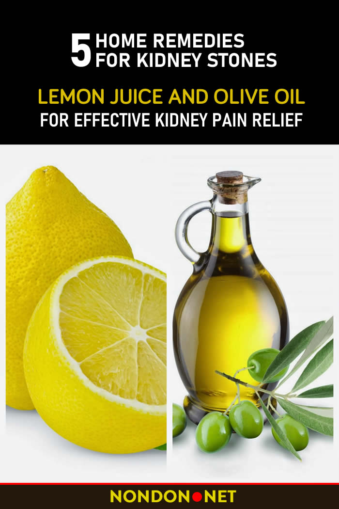 Effective Kidney Pain Relief 5 Home Remedies For Kidney Stones