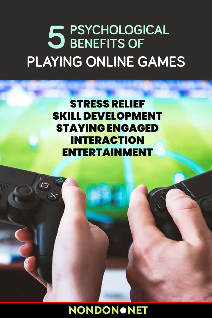 5 Psychological Benefits of Playing Online Games #OnlineGames #OnlineGame #PlayGame #StressReliefGames #StressReliefGame #StressRelief #Stress #SkillDevelopment #anxiety #anxietyRelief