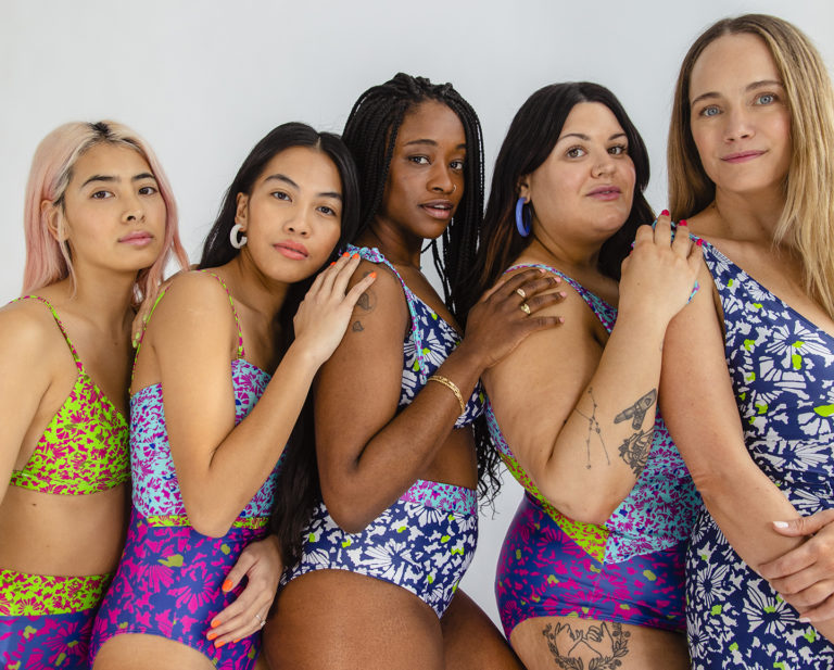 Tanya Taylor launched a swim collection with Summersalt