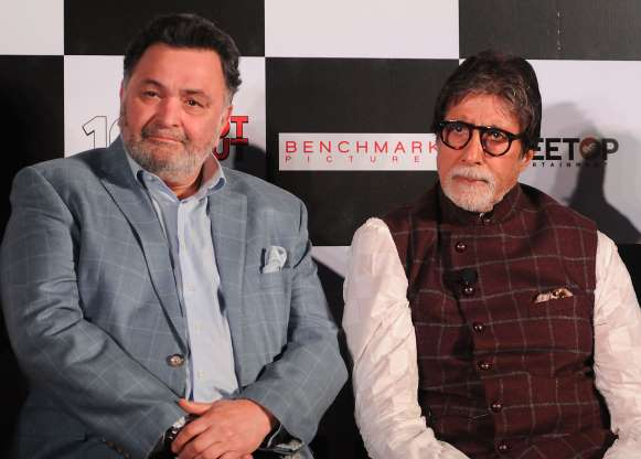 "In 1977, Rishi Kapoor acted alongside Amitabh Bachchan and Vinod Khanna in ""Amar Akbar Anthony."" Kapoor calls it his favorite film with Amitabh Bachchan."