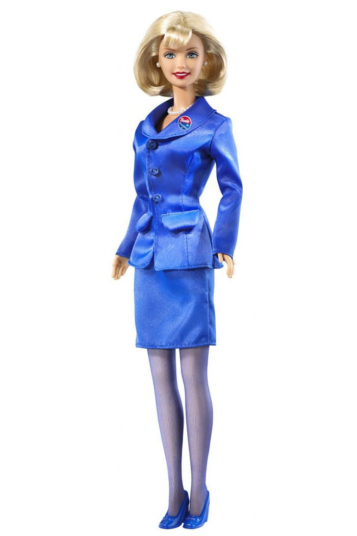 Barbie for President. Barbie began her run for president in 1992, and has launched six consecutive campaigns.