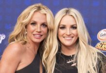 Britney Spears traveled to Louisiana to quarantine with her family, says sister Jamie Lynn.