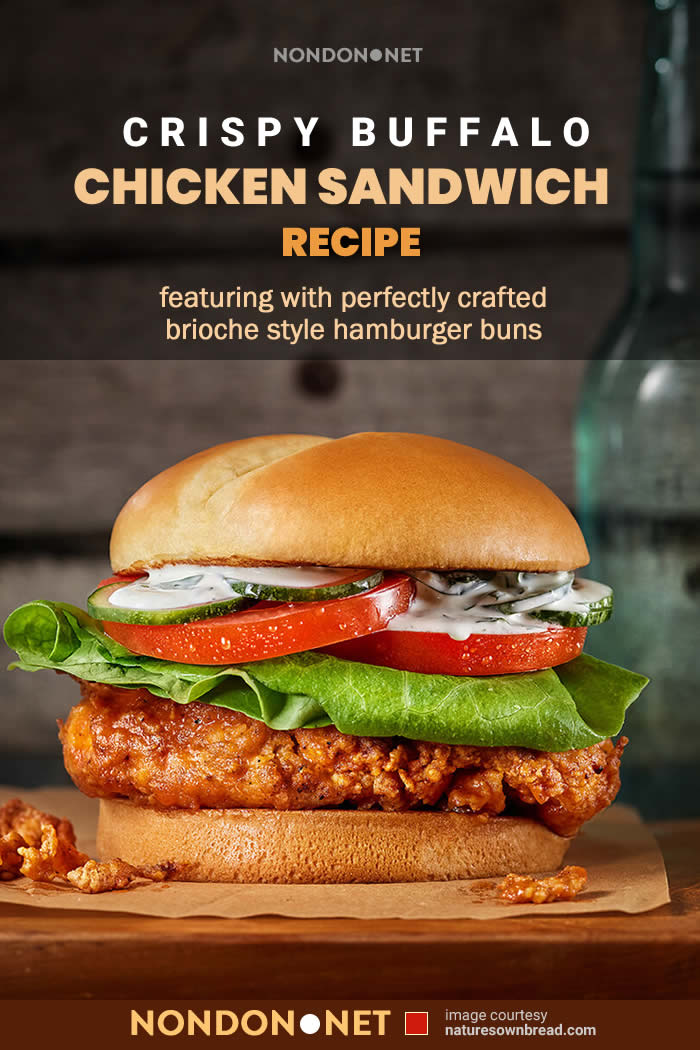 Crispy Buffalo Chicken Sandwich Recipe #Crispy #BuffaloChicken #BuffaloChickenSandwich #ChickenSandwichRecipe #SandwichRecipe #ChickenSandwich #BuffaloSandwichRecipe #BuffaloSandwich #CrispyChickenSandwich #CrispySandwich #CrispyChicken #ChickenRecipe #hamburgerbuns #hamburger #buns #launch #dinner #launchRecipe #dinnerRecipe #Brioche #buttermilk #cayenne #garlicpowder #BuffaloChickenSandwichRecipe