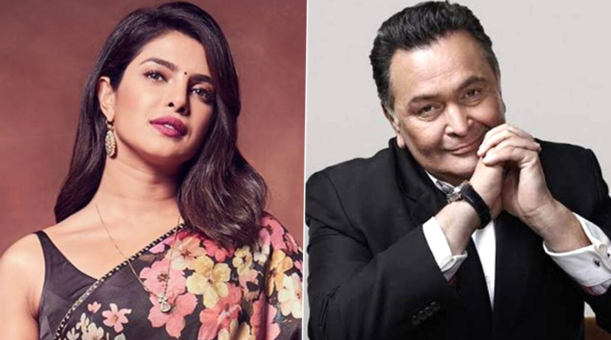 Priyanka Chopra Pens a Heartfelt Tribute to Late Actor Rishi Kapoor, Says 'Hindi Cinema Will Never Be the Same'.