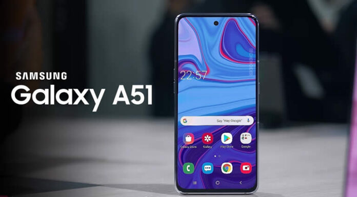 Samsung Galaxy A51 Phone