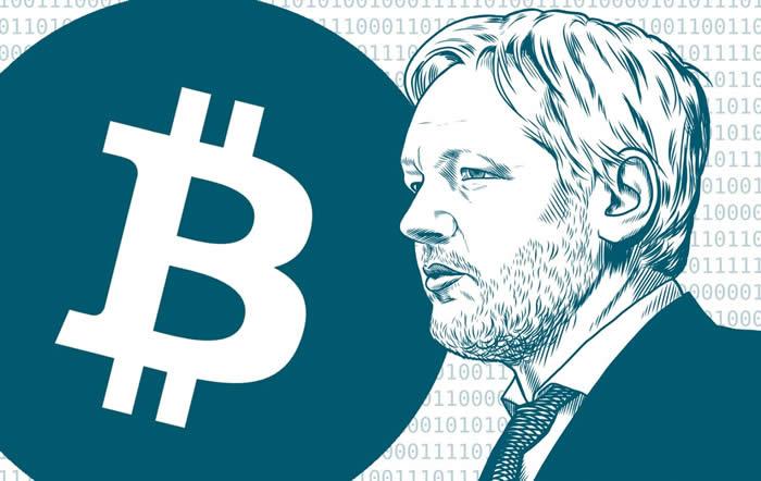 Wikileaks gathers $37M in BTC since 2010