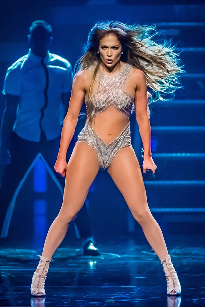 Jennifer Lopez throws a One-Night-Only Show In Las Vegas at January 15, 2018. Photo source: Beautyelife