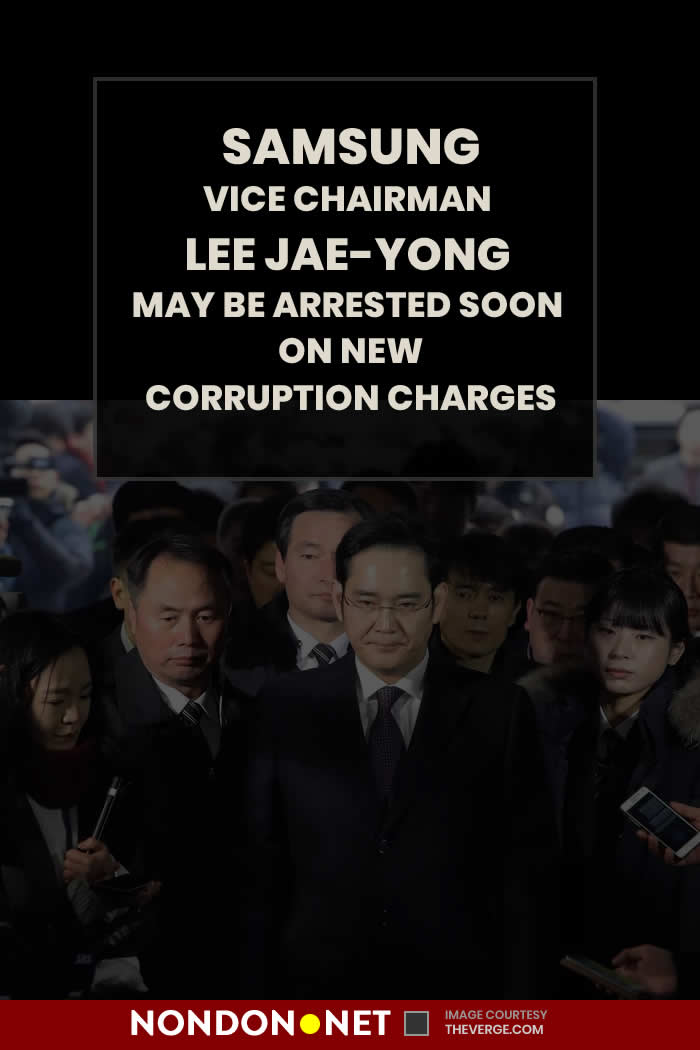 Lee Jae-yong, Samsung Electronics vice chairman and the de facto leader of the Samsung Group conglomerate, may soon find himself back in jail