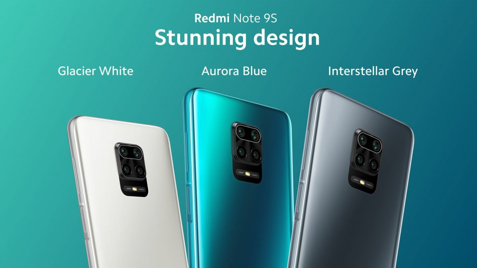 Redmi Note 9S are available in 4GB+64GB and 6GB+128GB storage variants.