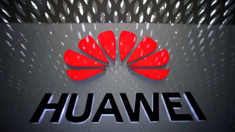 A Huawei company logo is pictured at the Shenzhen International Airport in Shenzhen, Guangdong province, China July 22, 2019/Reuters