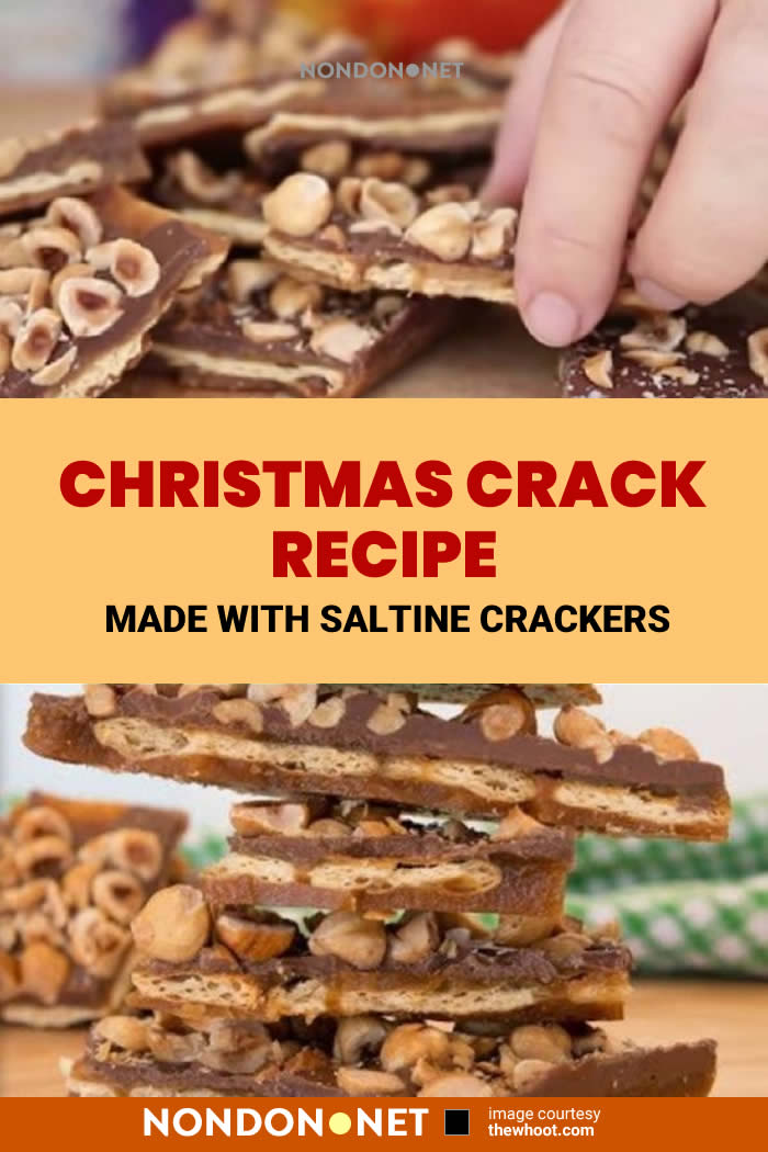 Everyone going crazy for this Christmas Crack Recipe made back than Saltine Crackers and you will too. This endearing treat is put in for the holidays!
