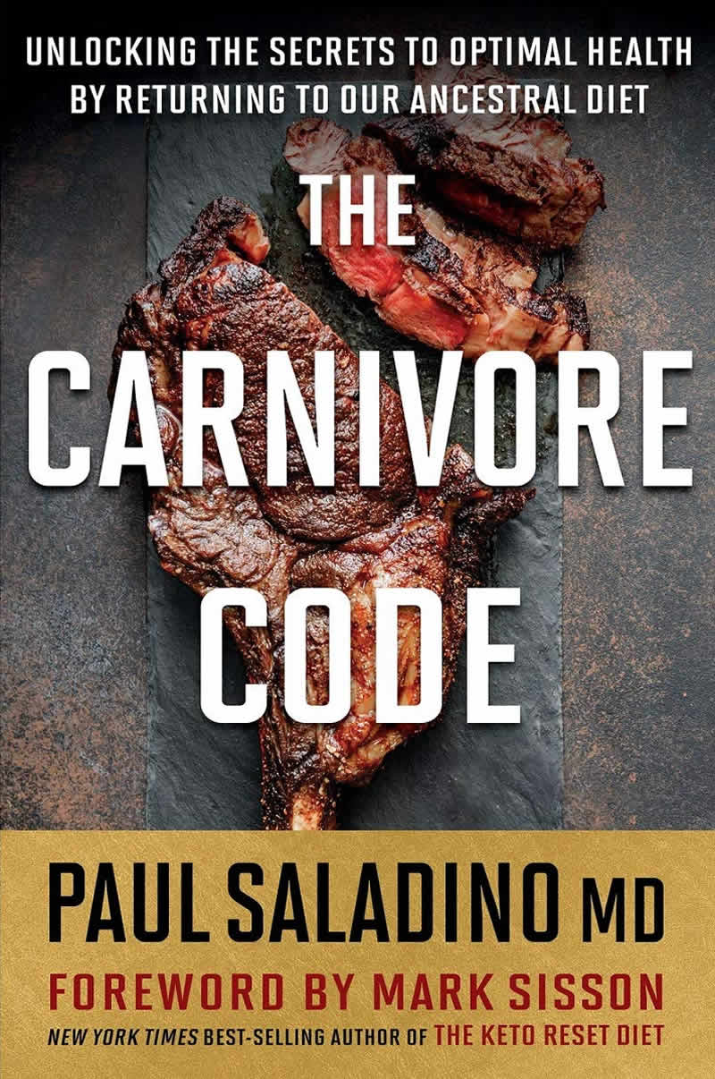 Carnivore Code by Paul Saladino, great book focusing on Mental Health Awareness