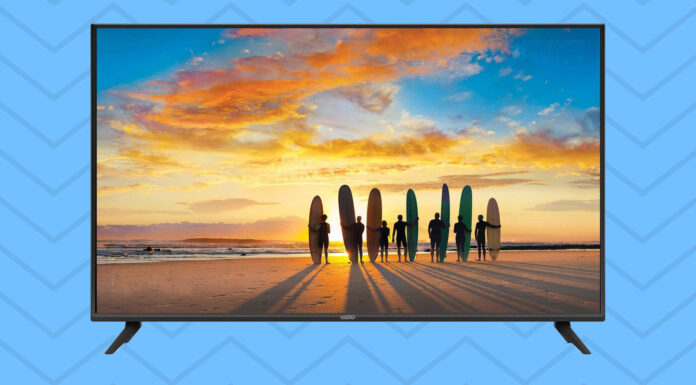 Vizio V-Series 50-Inch 4K Ultra HD LED Smart TV is on sale